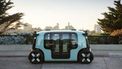 """Amazon, il primo robotaxi è un microbus """"bifronte"""" [VIDEO] - Immagine: 6"""