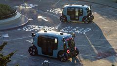 """Amazon, il primo robotaxi è un microbus """"bifronte"""" [VIDEO] - Immagine: 7"""