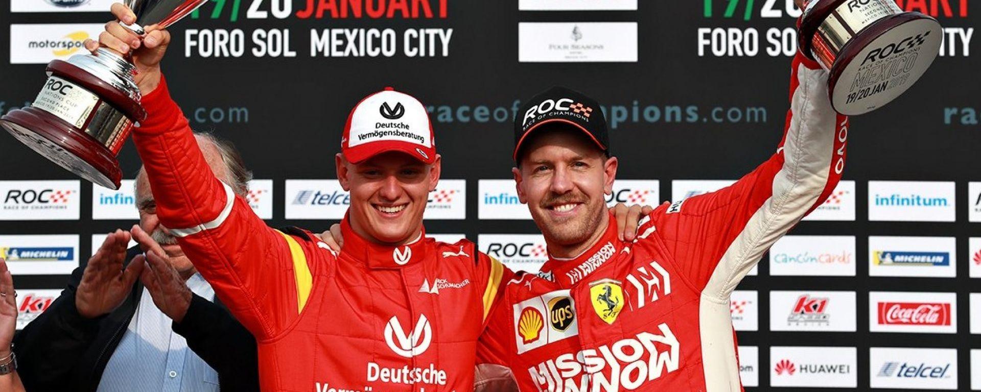 """ROC 2019: Schumi Jr elimina Vettel! """"Ha un futuro da Star"""""""