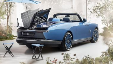 Rolls-Royce Boat Tail: il posteriore