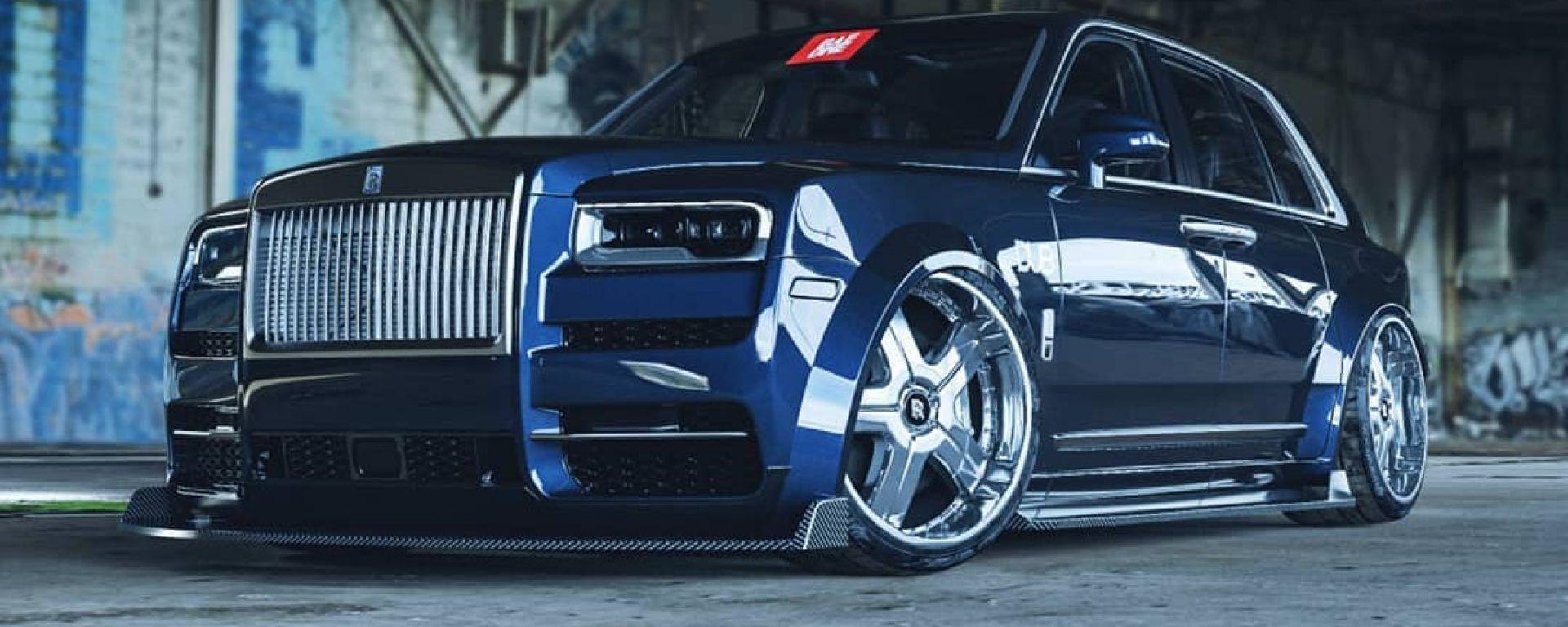 Rolls Royce Cullinan Dub Edition: pimp my Rolls?