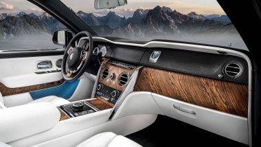 Rolls Royce Cullinan: gli interni del SUV iperlussuoso