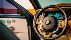 Rolls Royce Cullinan: gli interni, il volante