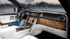 Rolls Royce Cullinan, gli interni