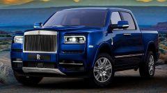 Rolls Royce Cullinan: il SUV qui è in versione pickup (ma è solo un rendering)