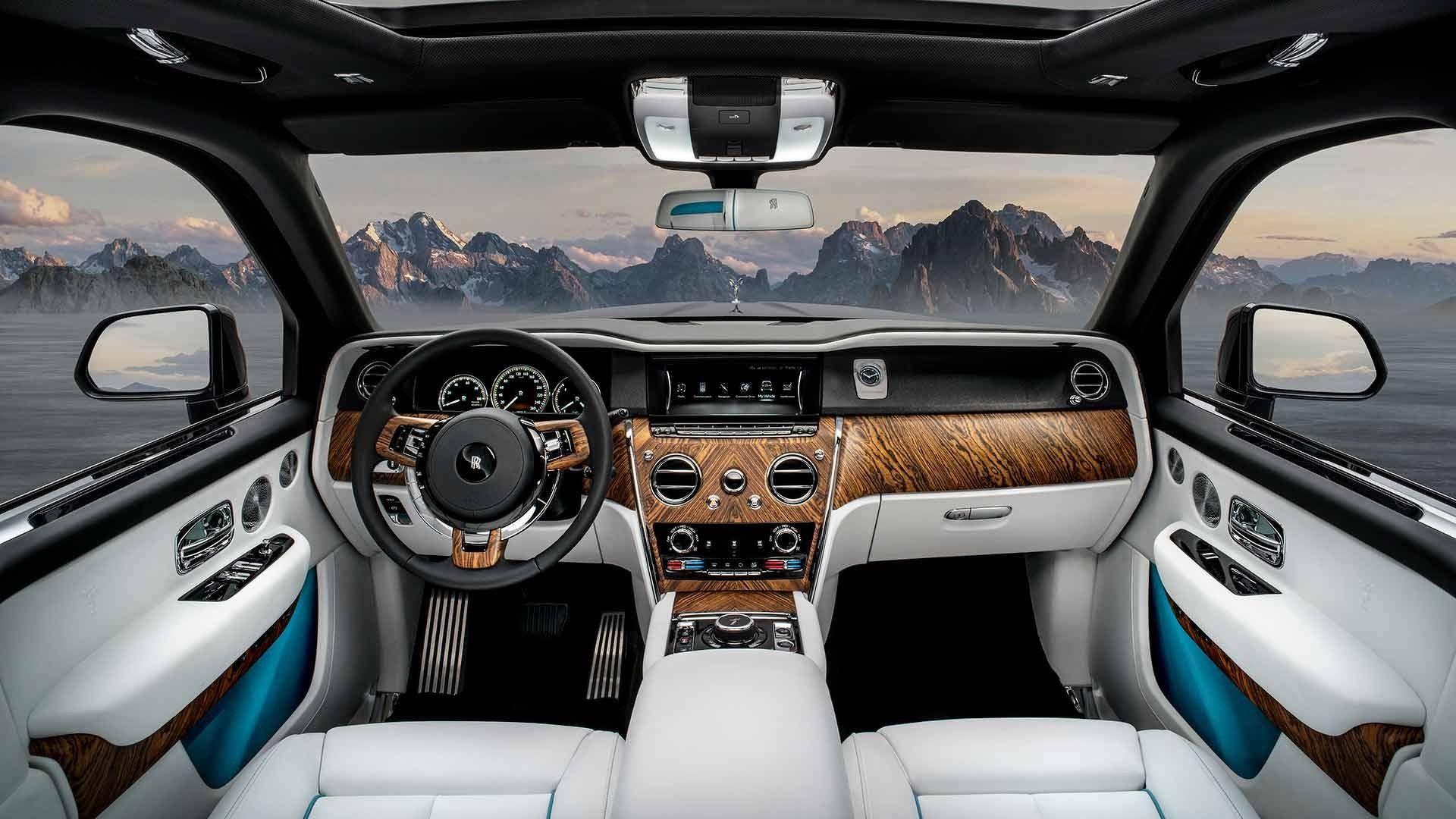 Rolls-Royce Cullinan: interni, prezzi, immagini del SUV di ...