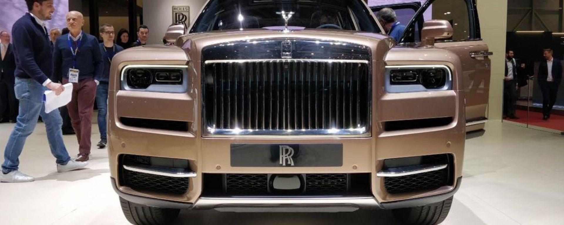 Rolls-Royce Cullinan: quando SUV fa rima con lusso