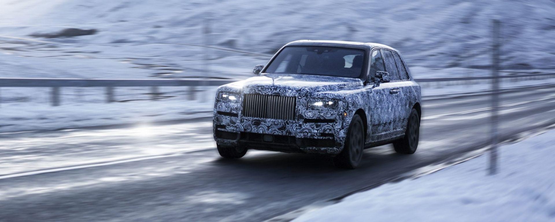 Rolls-Royce Cullinan: la Casa inglese ufficializza il nome
