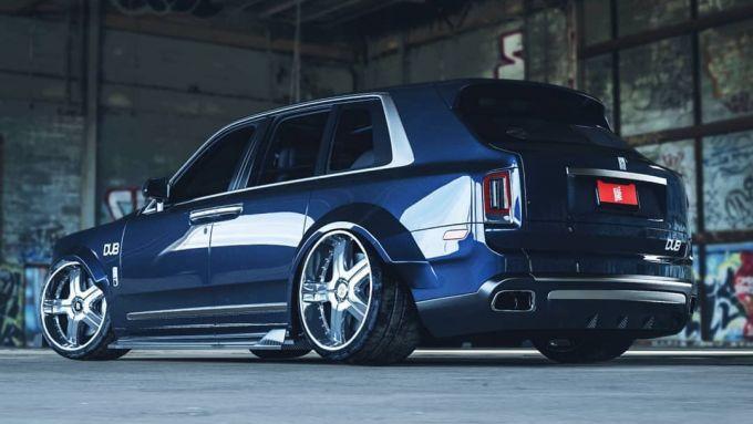 Rolls Royce Cullinan pimpata? Solo un rendering, per ora