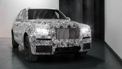 Rolls-Royce Cullinan: sarà in vendita nel 2018