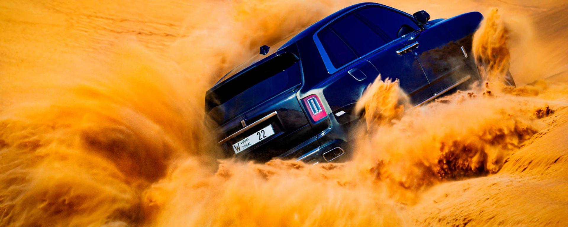Rolls Royce Cullinan: SUV o vero fuoristrada?