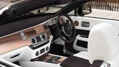 Rolls-Royce Dawn Mayfair: gli interni hanno decorazioni in rame