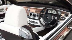 Rolls-Royce Dawn Myfair: gli interni di pelle Arctic White
