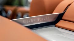 Rolls-Royce Dawn Silver Bullet: la scritta sul frangivento