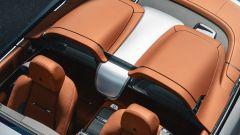 Rolls-Royce Dawn Silver Bullet: l'abitacolo visto dall'alto