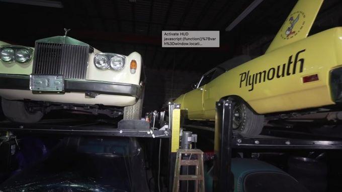 Rolls Royce e Plymouth Superbird nella collezione