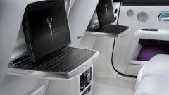 Rolls-Royce Ghost: la parte posteriore del lussuoso abitacolo