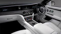 Rolls-Royce Ghost: l'abitacolo e la plancia