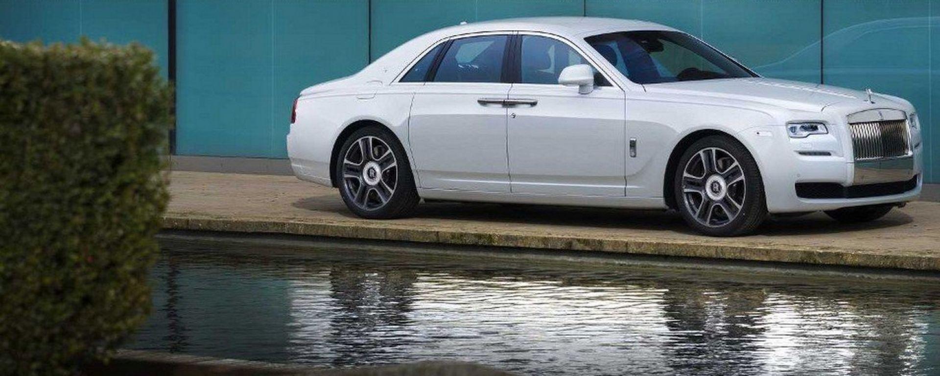 Rolls-Royce Ghost, problemini al circuito idraulico...
