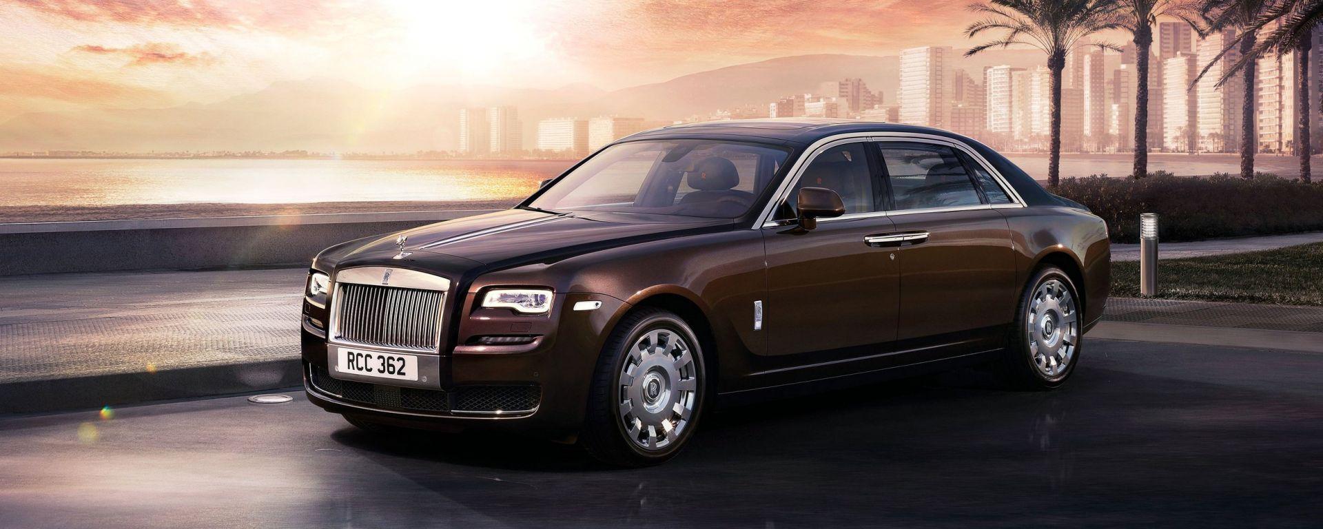 Rolls Royce Ghost Series II, foto e video