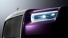Rolls-Royce Phantom 2018, le luci a LED