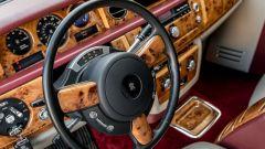 Rolls Royce Phantom, il dettaglio del volante