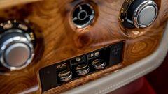 Rolls Royce Phantom, interni in radica