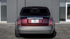 Rolls Royce Phantom vista da dietro