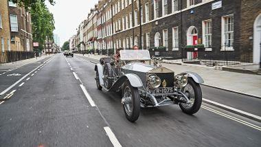 Rolls-Royce Silver Ghost 1701 per le strade di Londra