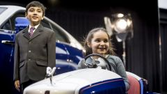 Rolls-Royce SRH con Molly Mathews, test driver d'eccezione alla cerimonia di presentazione dell'auto
