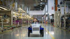 Rolls-Royce SRH: volendo la velocità massima può essere limitata a 6,4 km/h