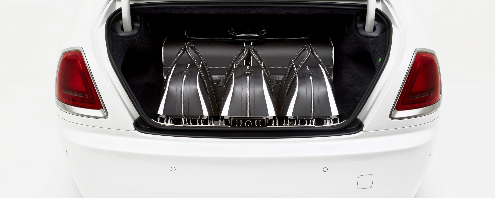 Rolls-Royce: un set di valigie da 29.000 euro per la Wraith