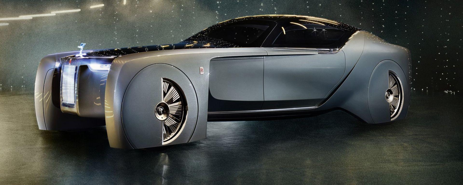 Rolls-Royce Vision Next 100: come sarà il lusso tra 30 anni?