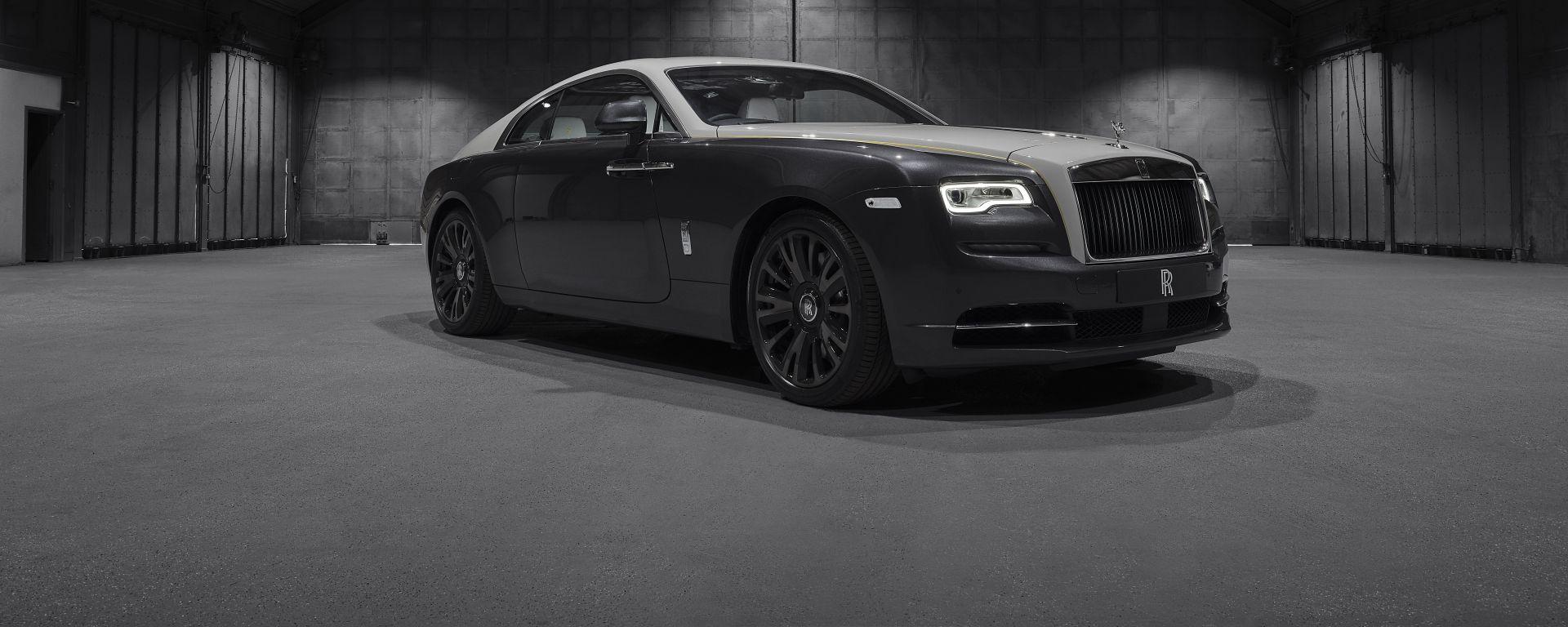 Rolls-Royce Wraith Eagle VIII: vista 3/4 anteriore