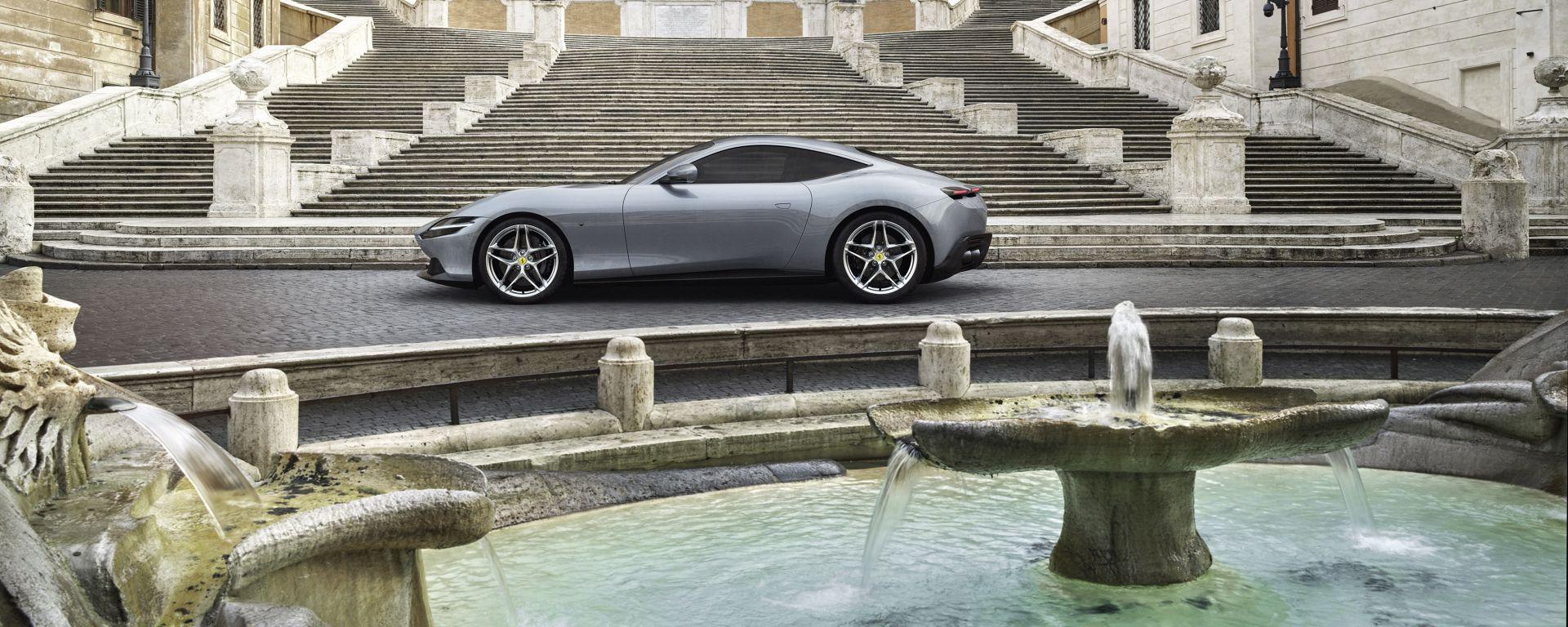 Roma, Ferrari Roma. What else?