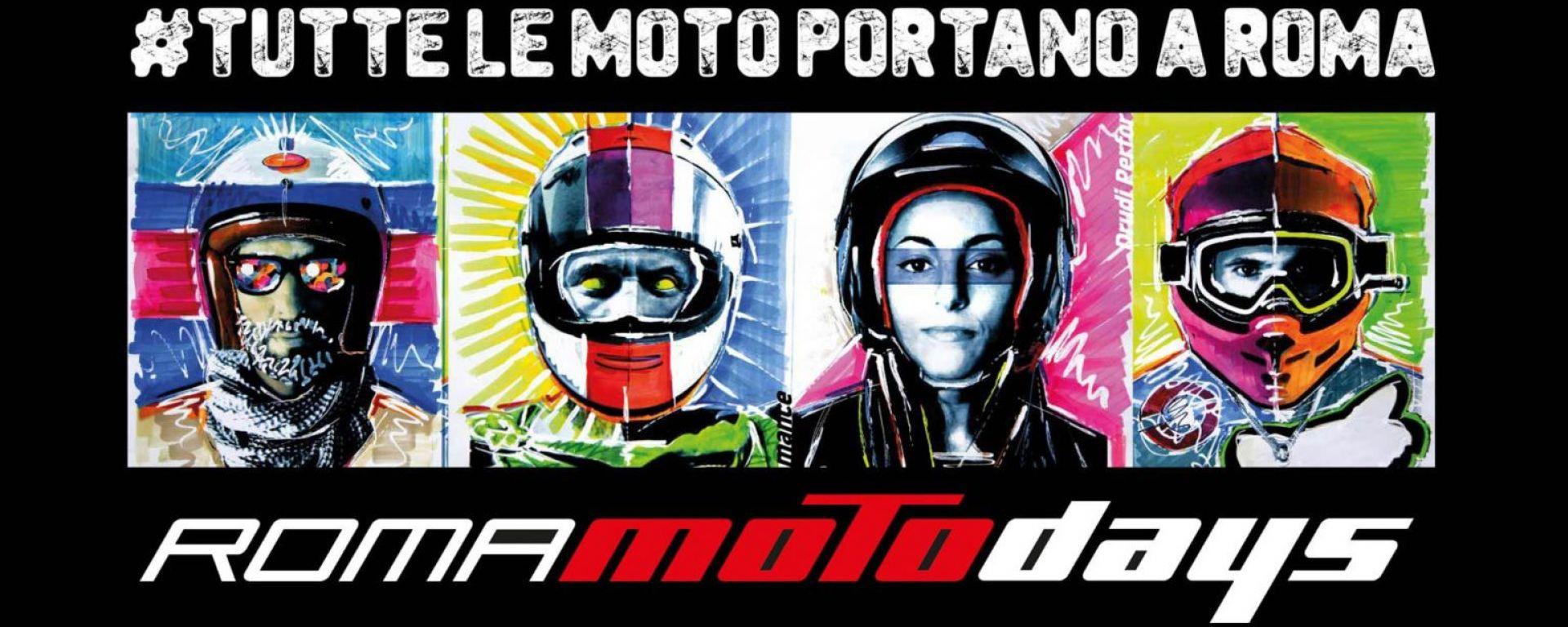 Roma Motodays: tutto rimandato al 2022, dall'11 al 13 marzo