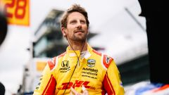 Grosjean, già al lavoro da Andretti, assaggia Indianapolis