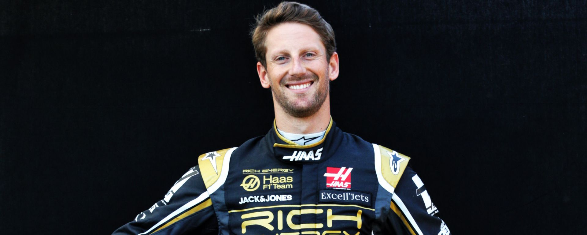 Romain Grosjean #8 F1 2019