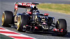 Romain Grosjean - Lotus E23