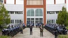 Romano Mignani, Comandante della Polizia Municipale, Claudio Domenicali, Amministratore Delegato Ducati e Virginio Merola, Sinda