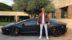 Ronaldo e la sua collezione: la Lamborghini Aventador