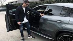 Ronaldo Mercedes GLE AMG