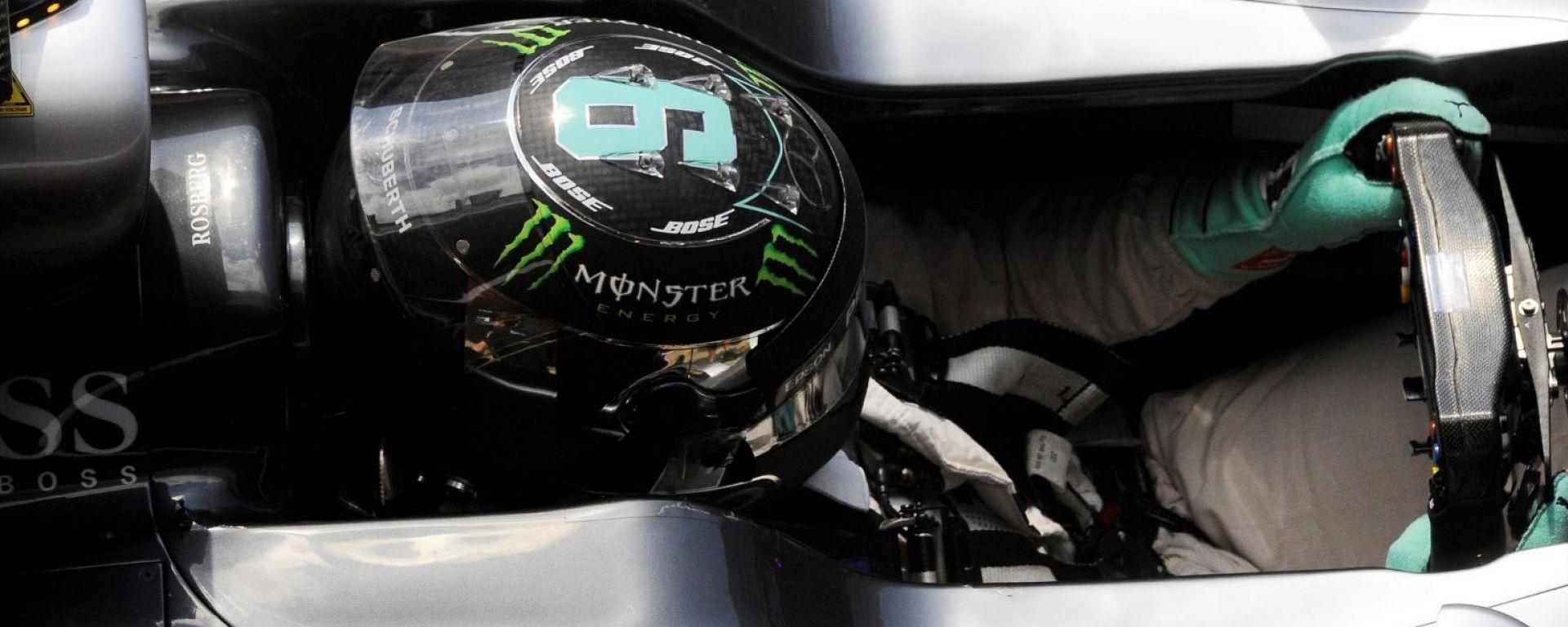 Rosberg ai test di Montmelò