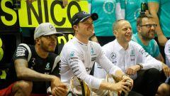 Rosberg e Hamilton - GP Singapore