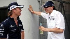 Rosberg e Kubica: i due sono amici dall'infanzia