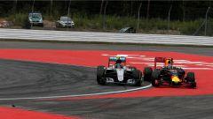 Rosberg e Verstappen - GP Germania 2016