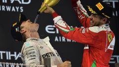 Rosberg e Vettel - F1 GP Abu Dhabi