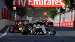 Rosberg, Ricciardo, Vettel - Baku Circuit