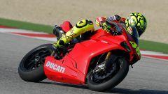 Valentino Rossi a Misano con la 1198 SBK - Immagine: 1