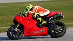 Valentino Rossi a Misano con la 1198 SBK - Immagine: 3